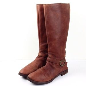 Lucky Brand Leather Riding Boots 9.5 -N260